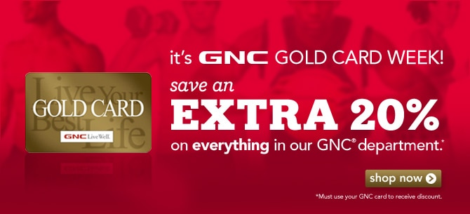 GNC is a world renowned retailer of nutritional products ranging from herbs, vitamins, supplements, nutrition, minerals to energy products. It's easy ordering process, fast shipping and extensive variety has made customers appreciate GNC for their nutritional needs.